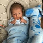 Meet Baby George Mather - UK