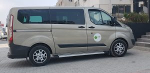 euroCARE IVF Cyprus Private Transport Van